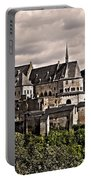 Vianden Castle - Luxembourg Portable Battery Charger by Juergen Weiss