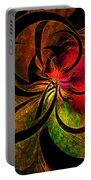 Vibrant Bloom Portable Battery Charger