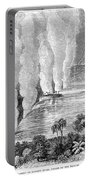 Victoria Falls, C1860 Portable Battery Charger