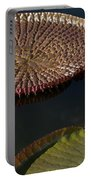 Victoria Amazonica Leaves Portable Battery Charger