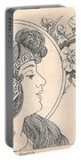 Victorian Lady - 3 Portable Battery Charger