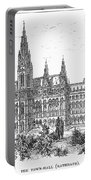 Vienna: City Hall, 1889 Portable Battery Charger