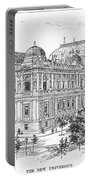 Vienna: University, 1889 Portable Battery Charger