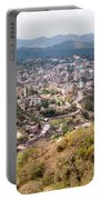 View Of Katra Township While On The Pilgrimage To The Vaishno Devi Shrine In Kashmir In India Portable Battery Charger