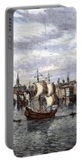 View Of London, 1550 Portable Battery Charger