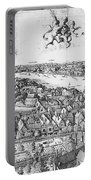View Of London, 1647 Portable Battery Charger