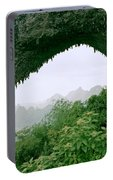 View Through Moon Hill In Guangxi In China Portable Battery Charger