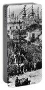 Vigilante Lynching, 1856 Portable Battery Charger