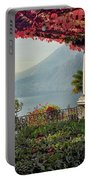 Villa Cipressi Pergola On Lake Como I Portable Battery Charger