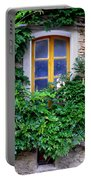 Vine Covered Stone House Portable Battery Charger