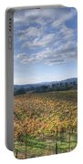 Vines In Fields Portable Battery Charger