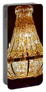 Vintage Ballroom Chandalier Fractal Portable Battery Charger