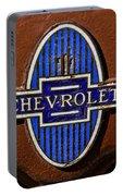 Vintage Chevrolet Emblem Portable Battery Charger