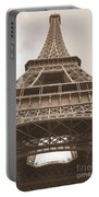 Vintage Eiffel Tower Portable Battery Charger