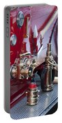 Vintage Fire Truck 1 Portable Battery Charger