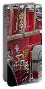 Vintage Fire Truck 2 Portable Battery Charger
