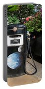 Vintage Gas Pump Portable Battery Charger