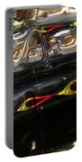 Vintage Metal Portable Battery Charger