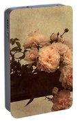 Vintage Roses Portable Battery Charger