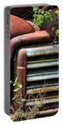 Vintage Rusty Dusty Gmc Graveyard Truck Portable Battery Charger
