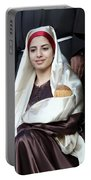 Virgin Mary And Baby Jesus At 4th Annual Christmas March Portable Battery Charger