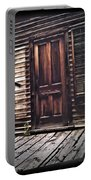 Virginia City Ghost Town Door I Portable Battery Charger