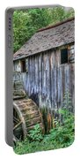 Visiting The Old Mill Portable Battery Charger