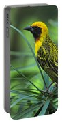 Vitelline Masked Weaver Portable Battery Charger