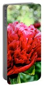 Vivid Peonies Portable Battery Charger