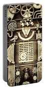 Vulcan Steel Steampunk Portable Battery Charger