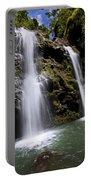 Waikani Falls And Pond Portable Battery Charger