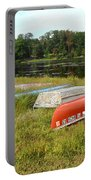 Waiting For One Last Summer Voyage Portable Battery Charger