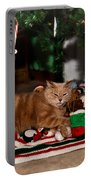 Waiting For Santa Portable Battery Charger