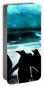 Waiting To Take Action Portable Battery Charger by Colette V Hera  Guggenheim