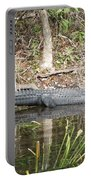 Wakulla Springs Alligator Portable Battery Charger