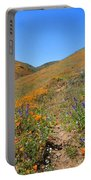 Walking Thru The Wildflowers Portable Battery Charger