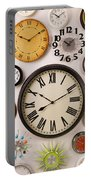 Wall Clocks Portable Battery Charger