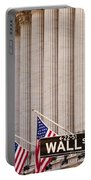 Wall Street Columns Portable Battery Charger