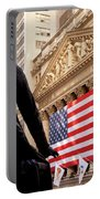 Wall Street Flag Portable Battery Charger