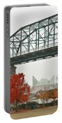 Walnut Street Bridge Portable Battery Charger by Tom and Pat Cory