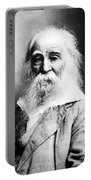Walt Whitman, American Poet Portable Battery Charger
