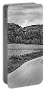 Wandering In West Virginia Monochrome Portable Battery Charger