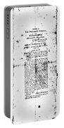 War Of 1812: Broadside Portable Battery Charger
