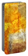Warm Abstract Portable Battery Charger by Brett Pfister