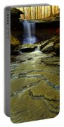 Warm Sky Cool Water Portable Battery Charger