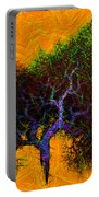 Was A Crooked Tree  Grunge Art Portable Battery Charger