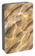 Water And Sand Ripples Portable Battery Charger