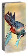 Water Dragon Portable Battery Charger by Bob Orsillo