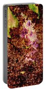 Water Flowers Vietnam Portable Battery Charger by Skip Nall