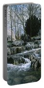 Water Flowing In A Garden, St. Fiachras Portable Battery Charger